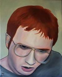 Self Portrait #1 Study by popcubism