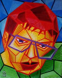 Self Portrait #1 by popcubism