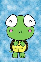 Kawaii Turtle by Jade-Sage08