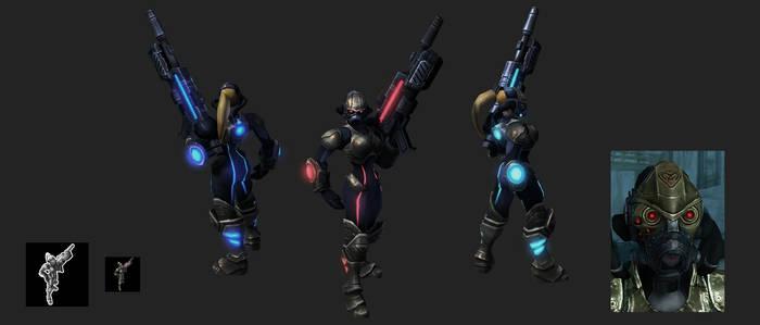 Starcraft 2 - Female Spectre