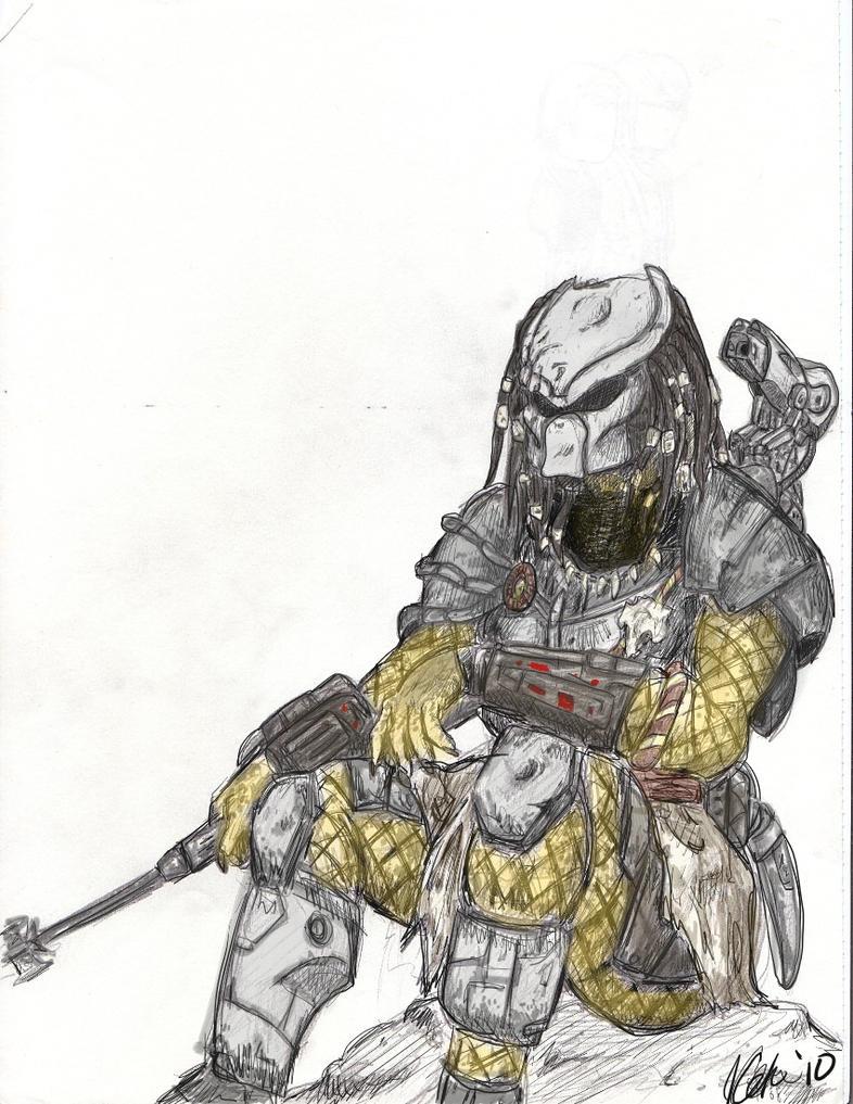 Predator in color by GabrielZuai