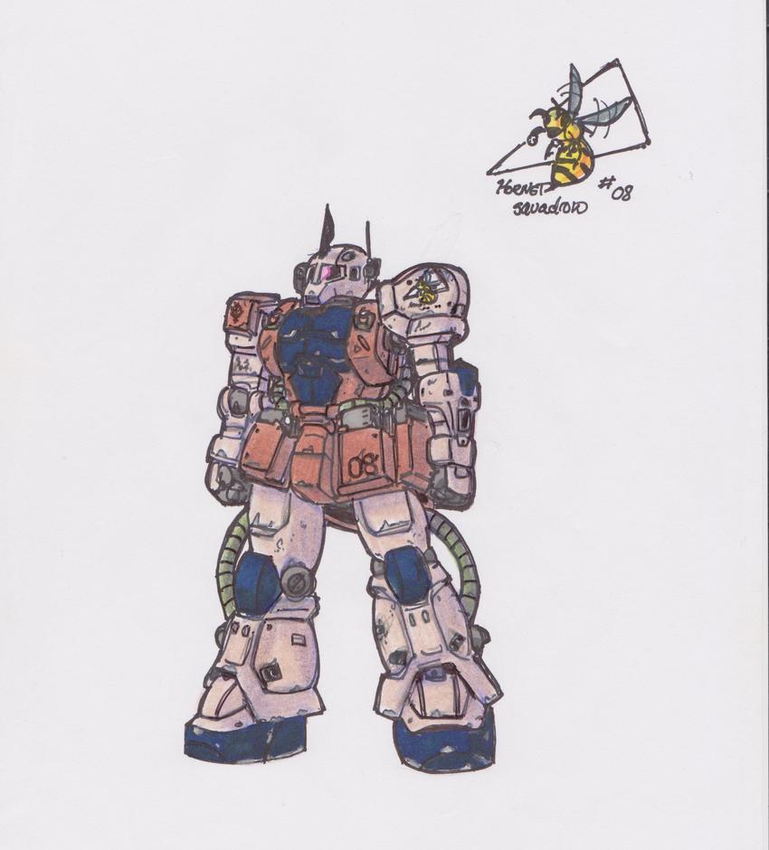 MS-05B Zaku I (Ronan Hartigan Use) by GabrielZuai