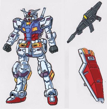 NCRX-04 Gundam Schlussel by GabrielZuai