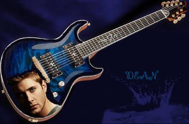 dean guitar by DieHard842