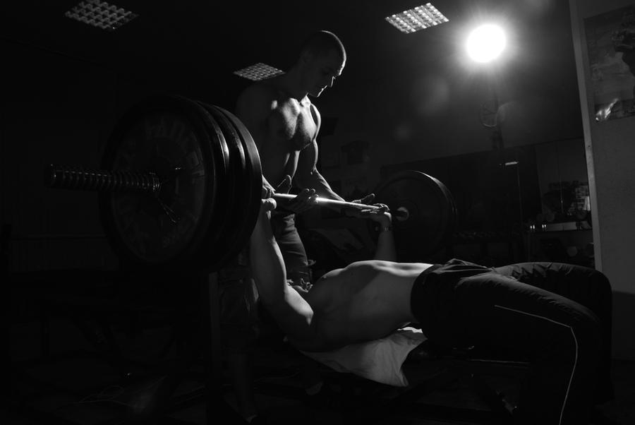 Gym buddy by vishstudio