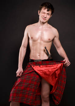 What is under the kilt