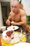 Dima and a cake