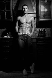 Model in my kitchen by vishstudio