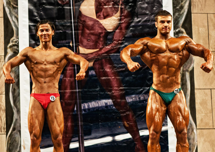 Bodybuilding competition 01 by vishstudio