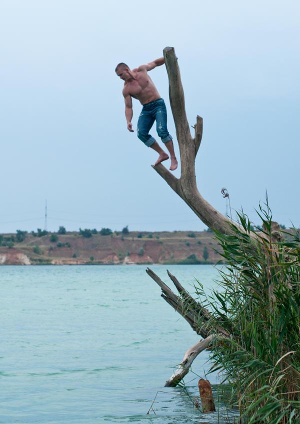 High Jump by vishstudio