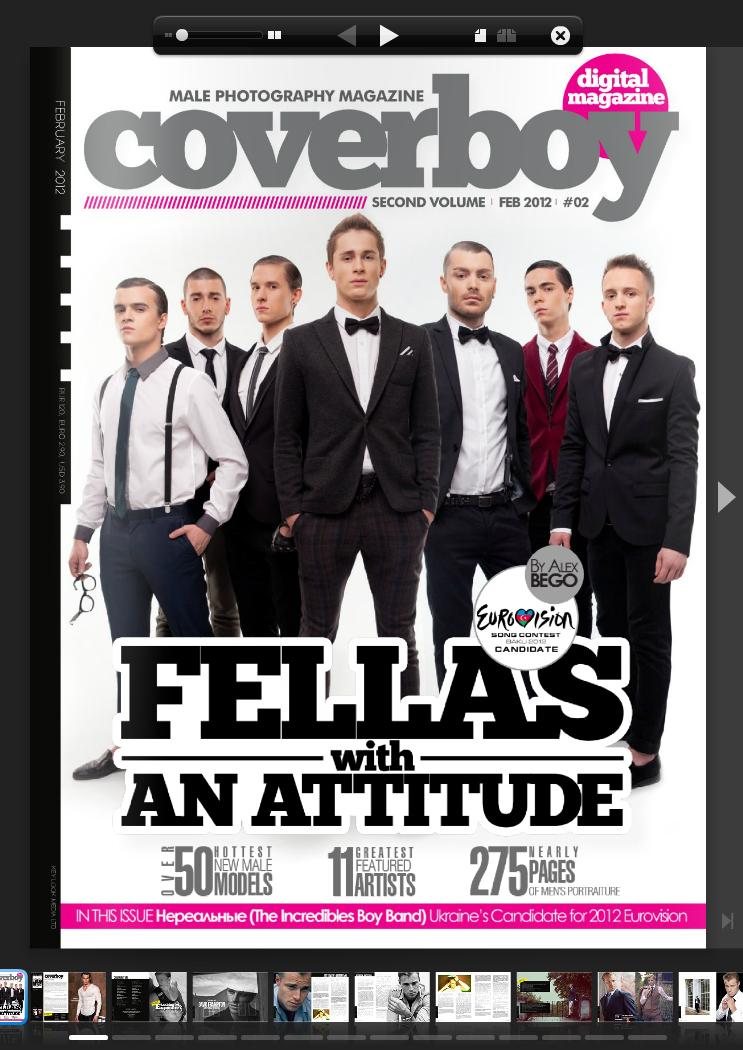 New Coverboy Feb 2012 by vishstudio