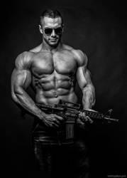 Deus Ex Machine Gun by vishstudio