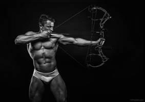 The Zen Archer by vishstudio