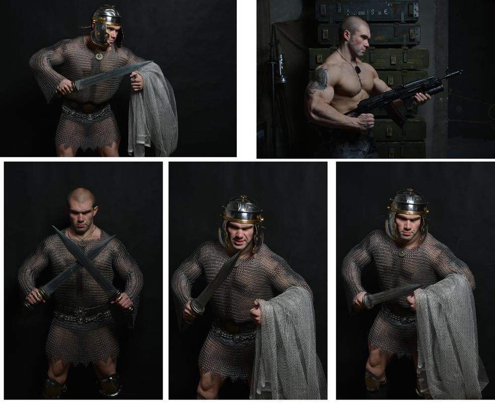 stock Gladiator by vishstudio