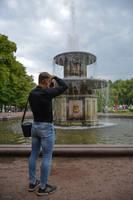 Roman Fountain by vishstudio