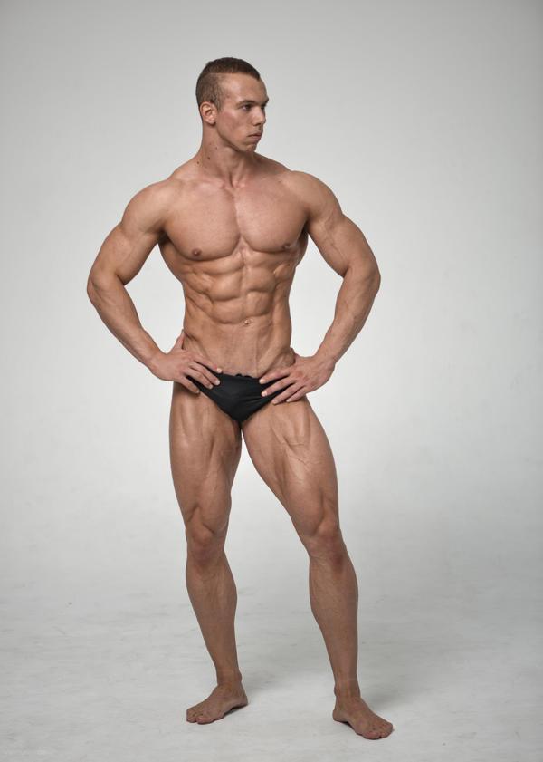Stock male full body