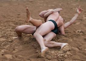 Beach Wrestling 1