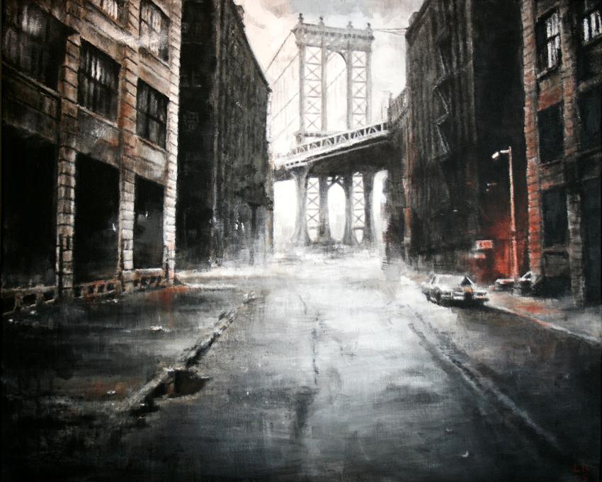 Manhattan Bridge by LinaLightning