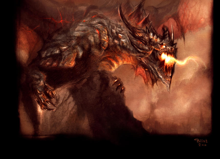 Deathwing by LinaLightning