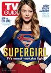 CBS's Supergirl TV Guide Magazine Cover