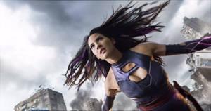 New Look at Olivia Munn as Psylocke!