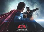 New Batman v Superman Quad Poster #1