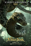 New Jungle Book Kaa Poster