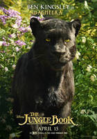 New Jungle Book Bagheera Poster by Artlover67