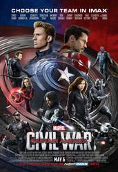 New Captain America: Civil War IMAX Poster