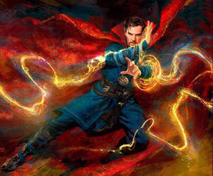 Doctor Strange Movie Concept Art by Artlover67