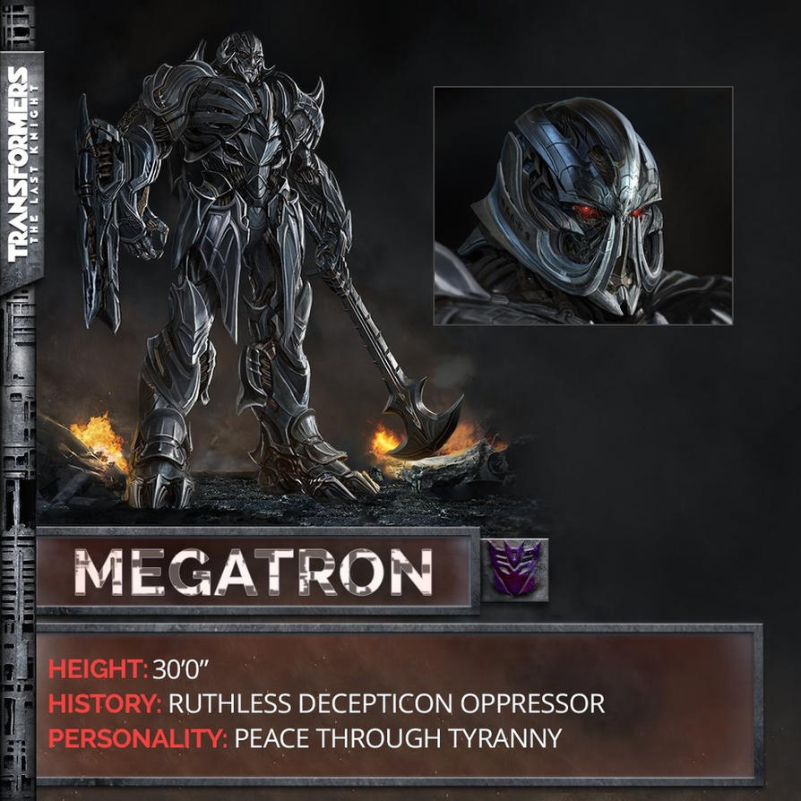 official concept art of megatron updated for tf5 by artlover67 on