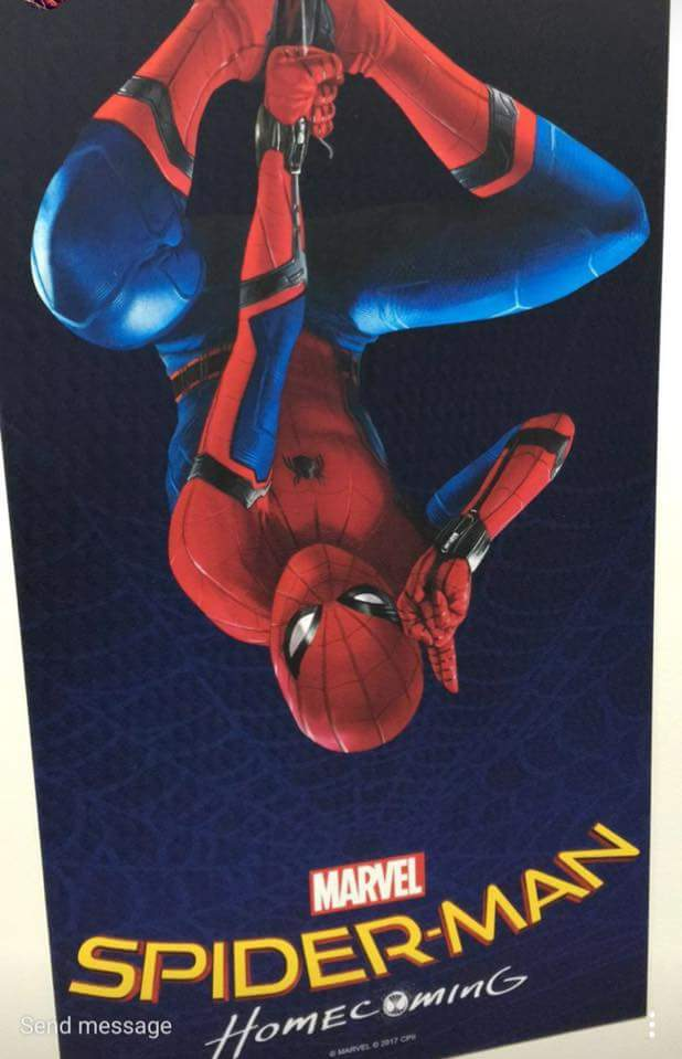 First Spider-Man: Homcoming Promo Poster by Artlover67