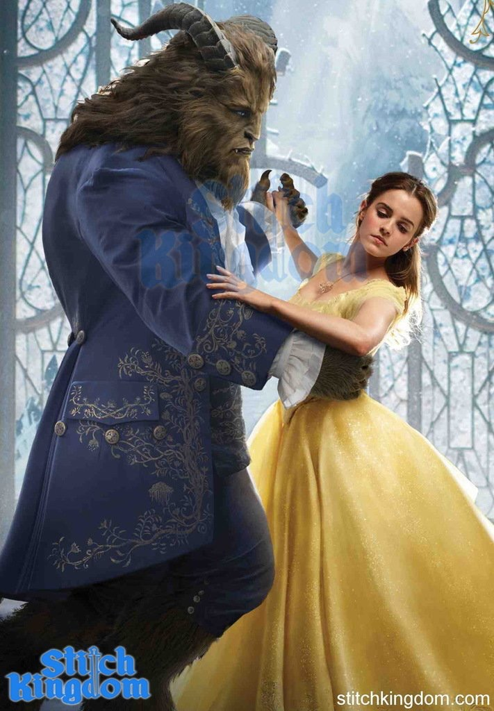 First Look at Live Action Belle and Beast! by Artlover67