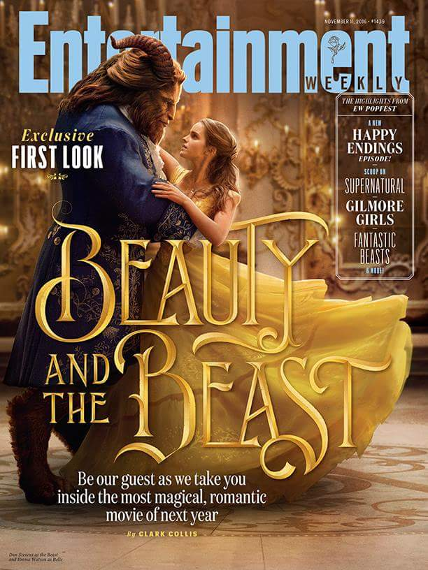 EW Cover of Disney's Beauty and the Beast (2017) by Artlover67