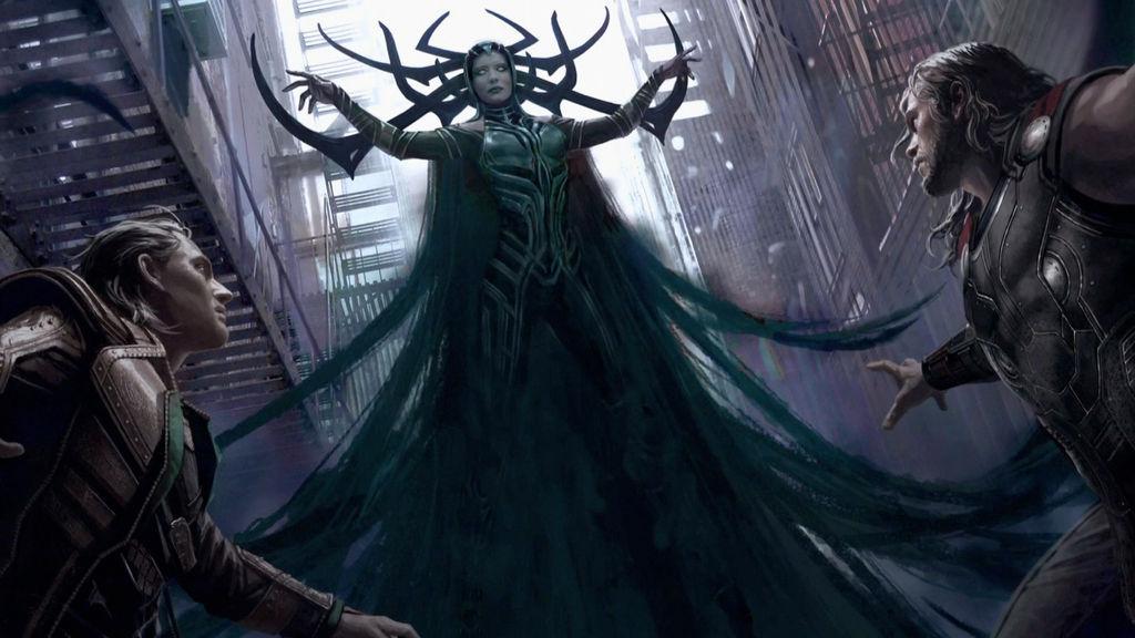 New Official Thor: Ragnarok Hela Concept Art