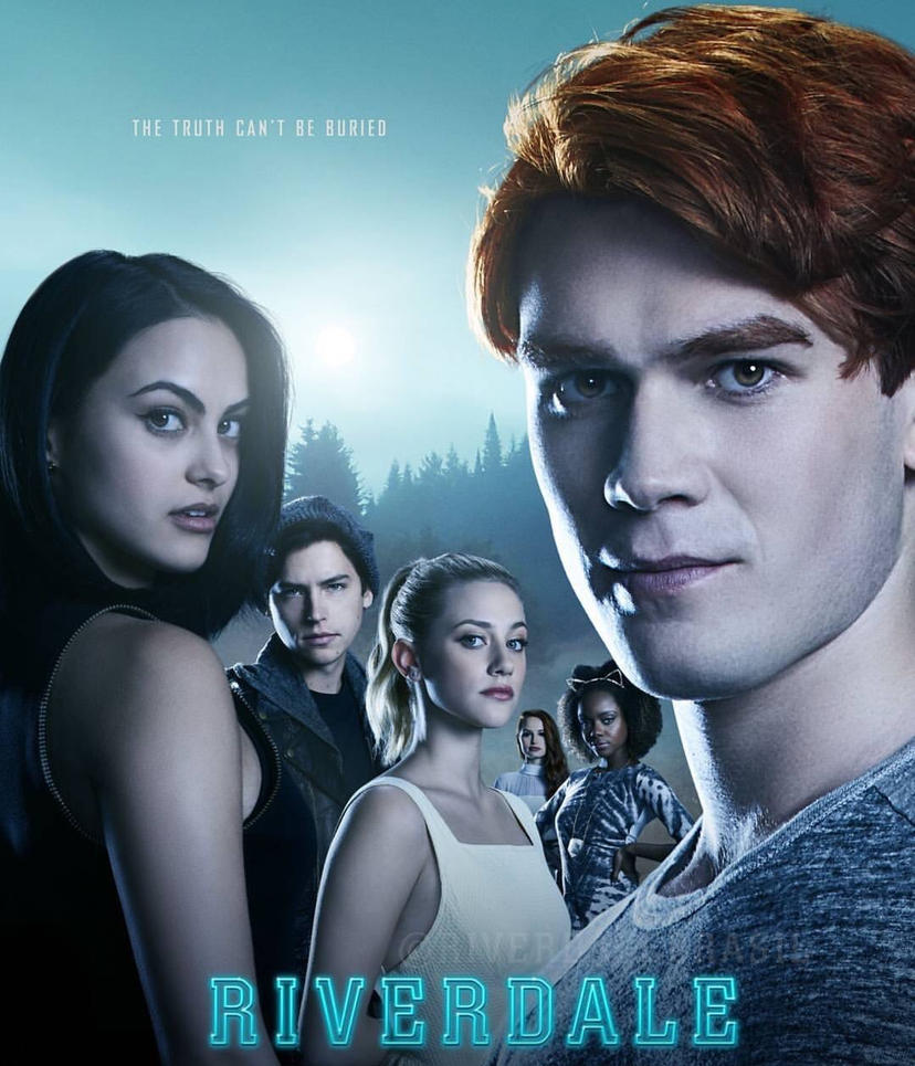 Riverdale Wallpaper: New CW Riverdale The Truth Can't Be Buried Poster By