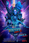 New Guardians of the Galaxy Vol. 2 IMAX Poster