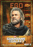 GOTG Vol. 2 Ego, the Living Planet Poster
