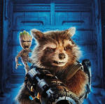 GOTG Vol. 2 Rocket and Baby Groot Promo Poster
