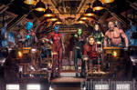 New Guardians of the Galaxy Vol. 2 Group Shot