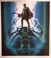 New Official Thor: Ragnarok Artwork by Artlover67