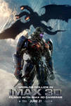 New Transformers: The Last Knight IMAX 3D poster