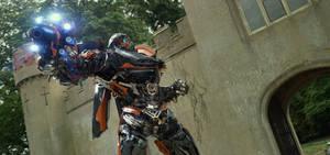 New Transformers: The Last Knight Hot Rod Still