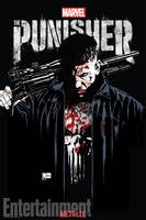 First Official Marvel's The Punisher Poster by Artlover67