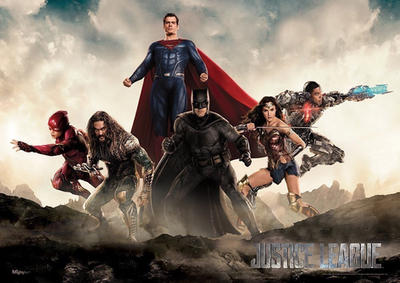 New Justice League Banner Poster by Artlover67