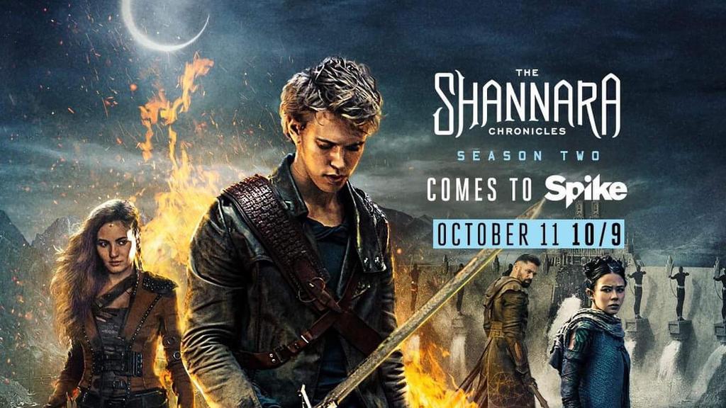 Resultado de imagem para The Shannara Chronicles season 2 posters