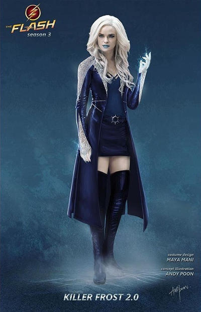 The Flash Season 3 Killer Frost 2 0 Concept Art by Artlover67 on