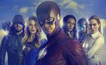 DC TV Promo Banner Poster