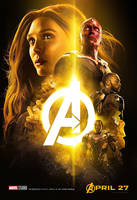 Avengers: Infinity War Mind Stone Poster