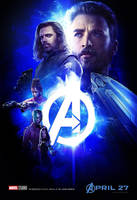 Avengers: Infinity War Space Stone Poster